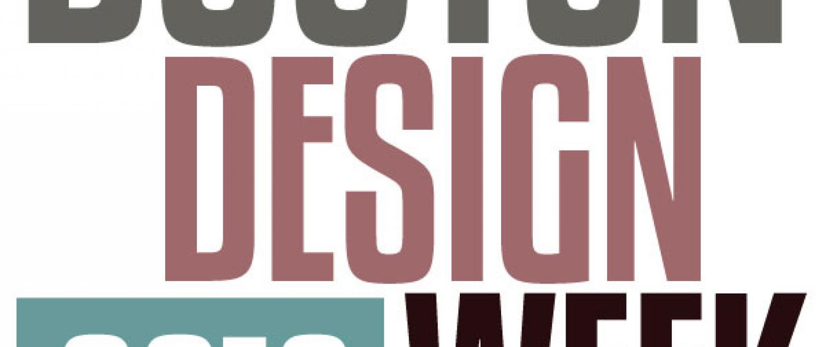 Third Annual Boston Design Week: March 30 – April 10, 2016