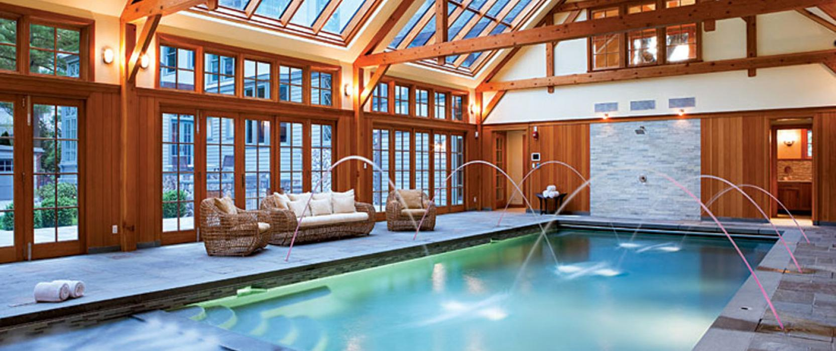 Indoor pool by Combined Energy Systems