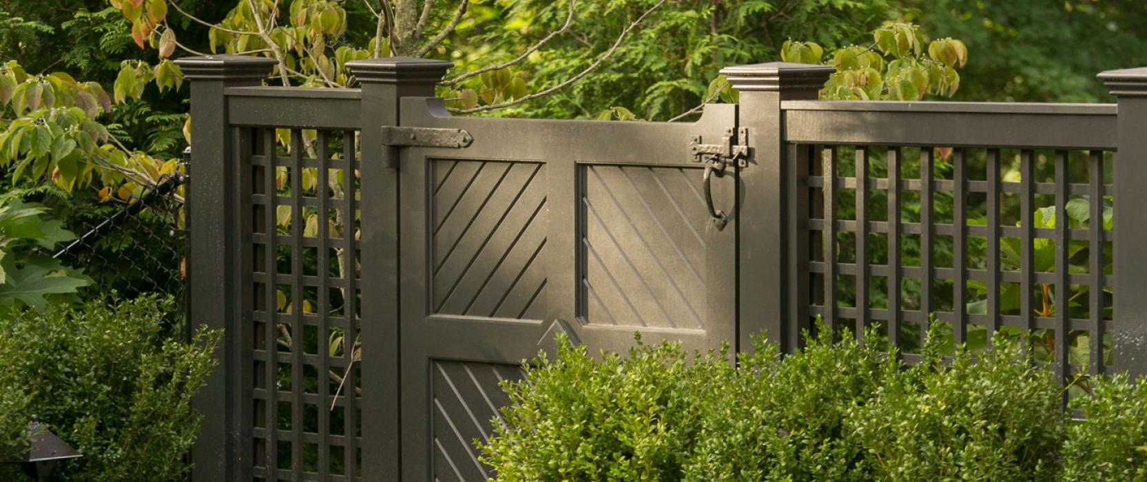 Gated landscape design by Dan Gordon Landscape Architects
