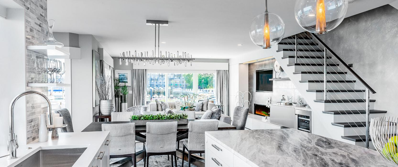 An Residential Makeover on Boston's Waterfront by Divine Design Center