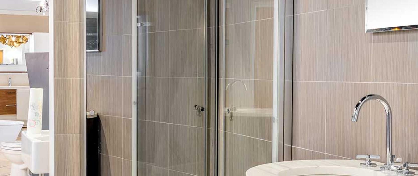 Duravit OpenSpace shower available at Frank Webb Home