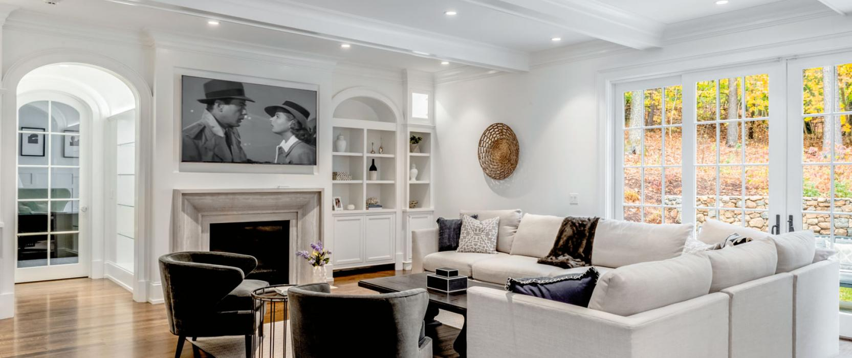 High-end turnkey Weston home for sale by top Boston builder