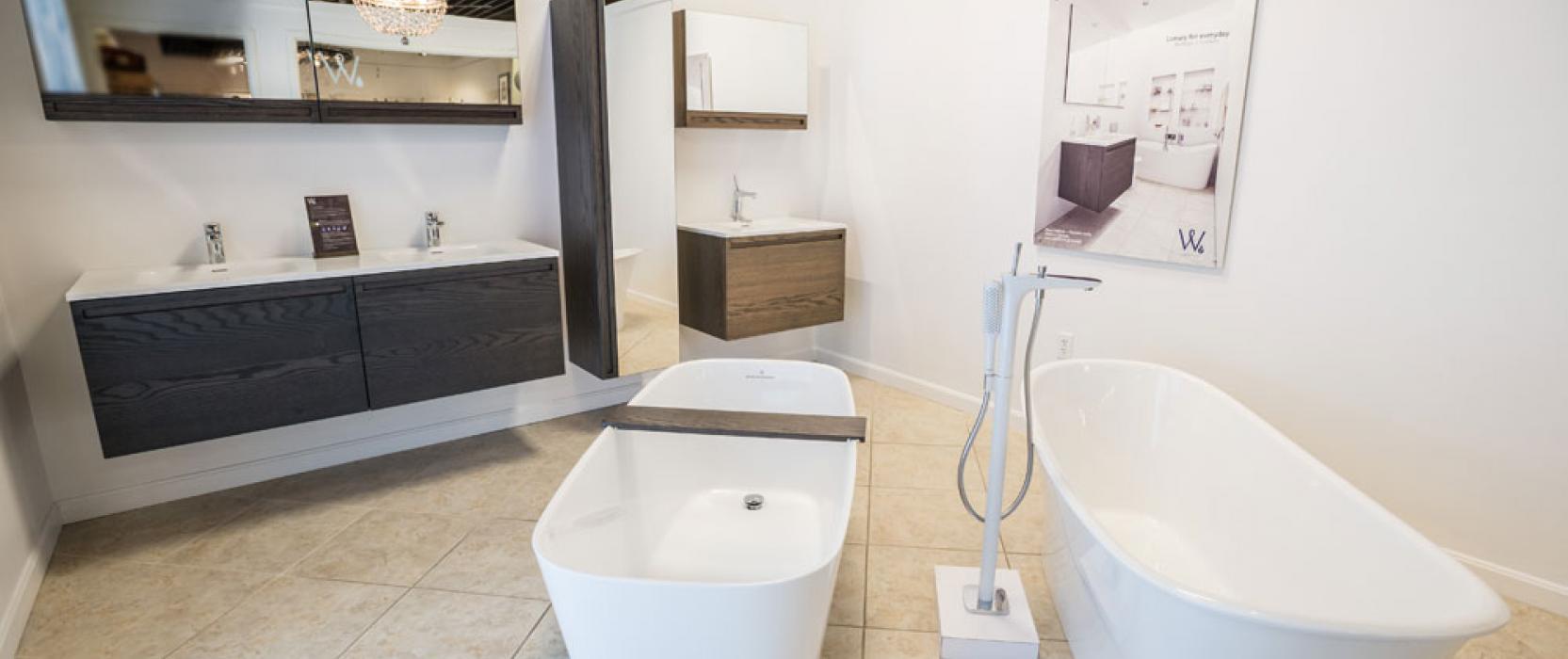 Frank Webb's Bath & Lighting Center: WETSTYLE New Display Showroom