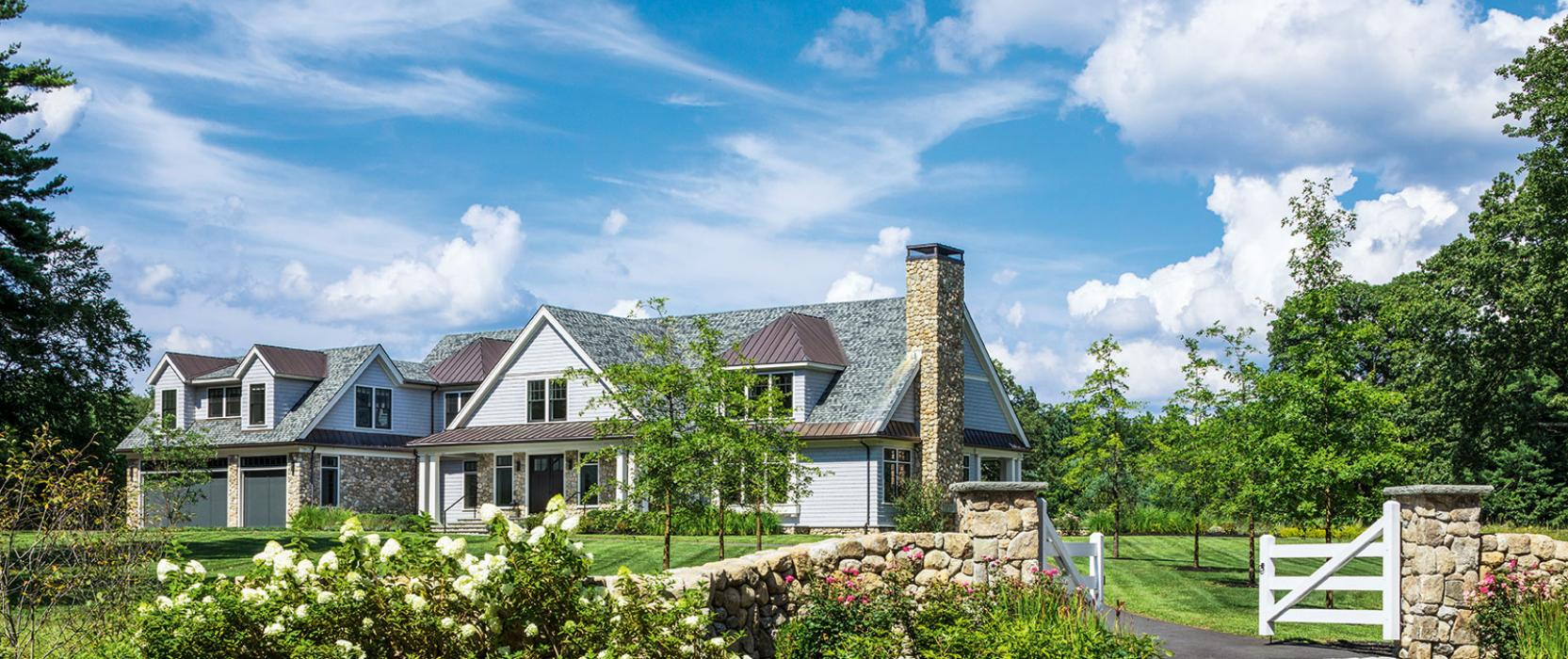 A New England escape designed for an equestrian