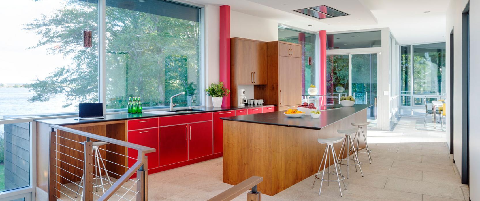 Modern kitchen design by LDa Architecture & Interiors
