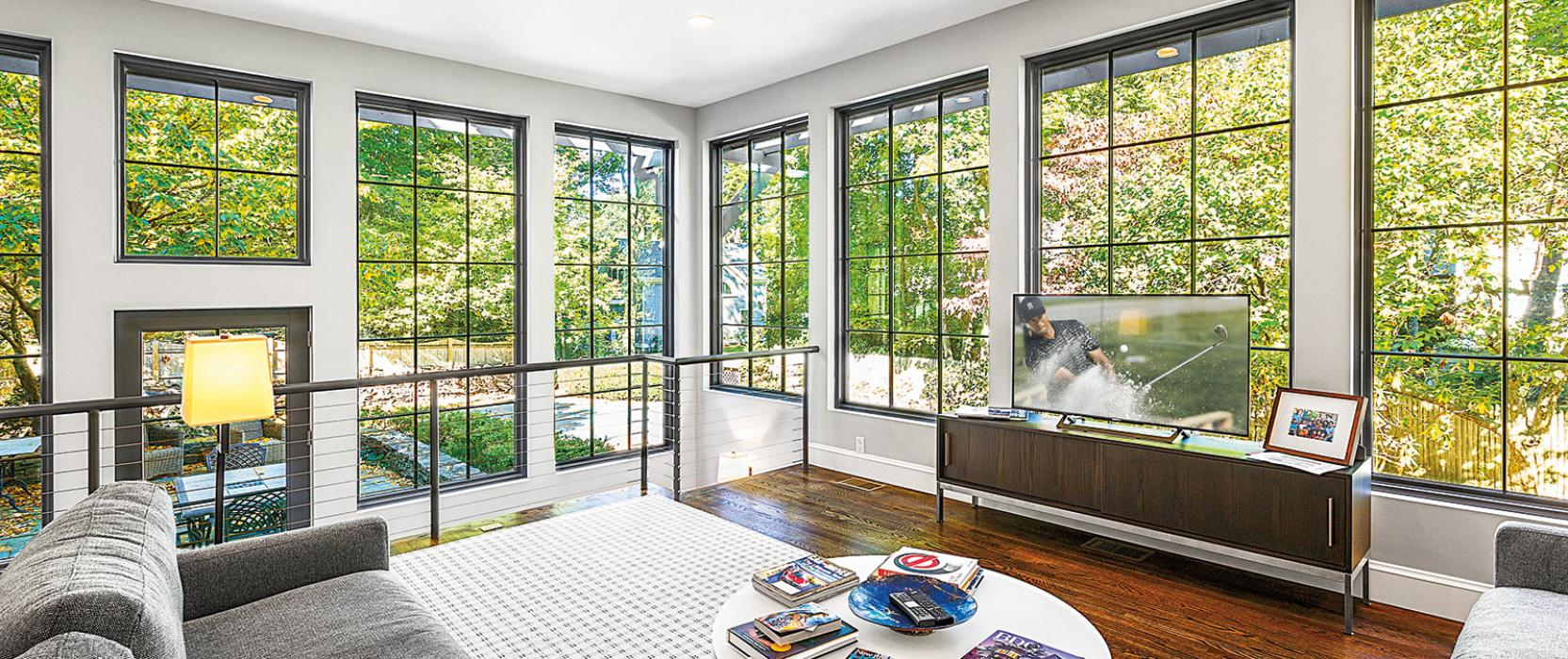 Peter Sachs Architect custom renovation with Pella Windows