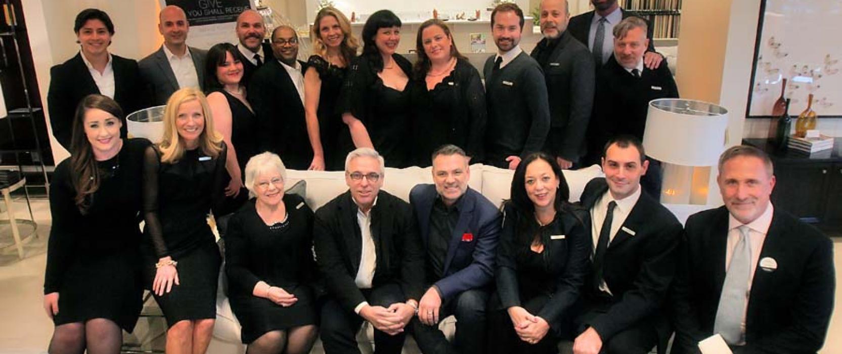 Seen & Inspired: Mitchell Gold + Bob Williams Celebrate Grand Opening in Burlington