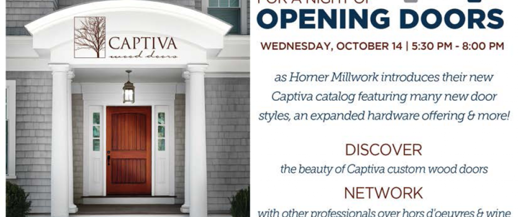 Opening Doors with Horner Millwork