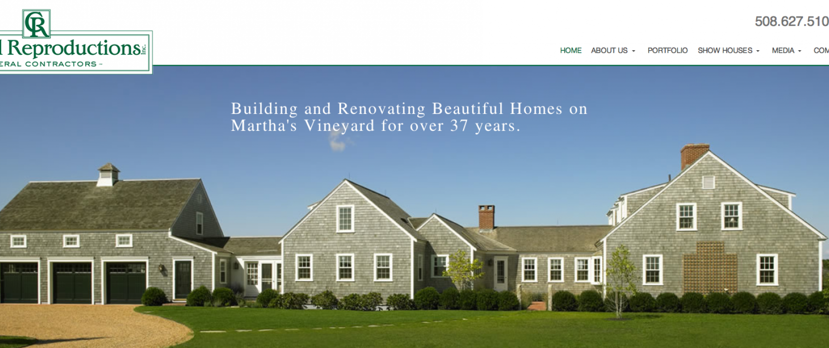 Colonial Reproductions Launches New Website