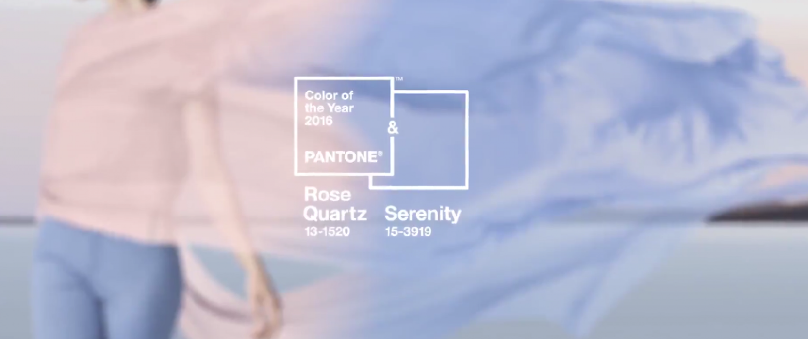 Pantone Color of the Year 2016: Rose Quartz & Serenity