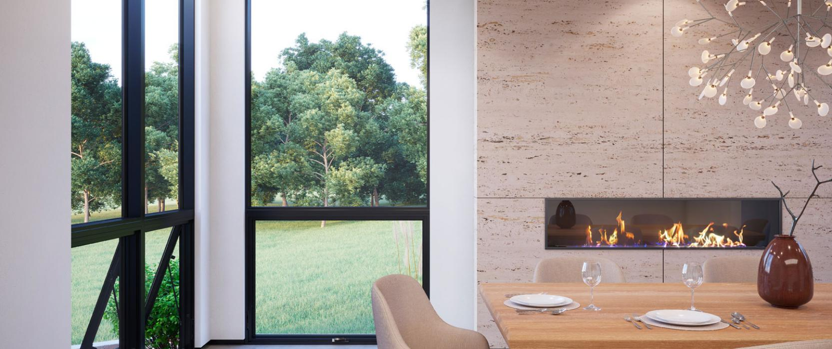 Custom, high-end windows: Signature Modern collection by Marvin