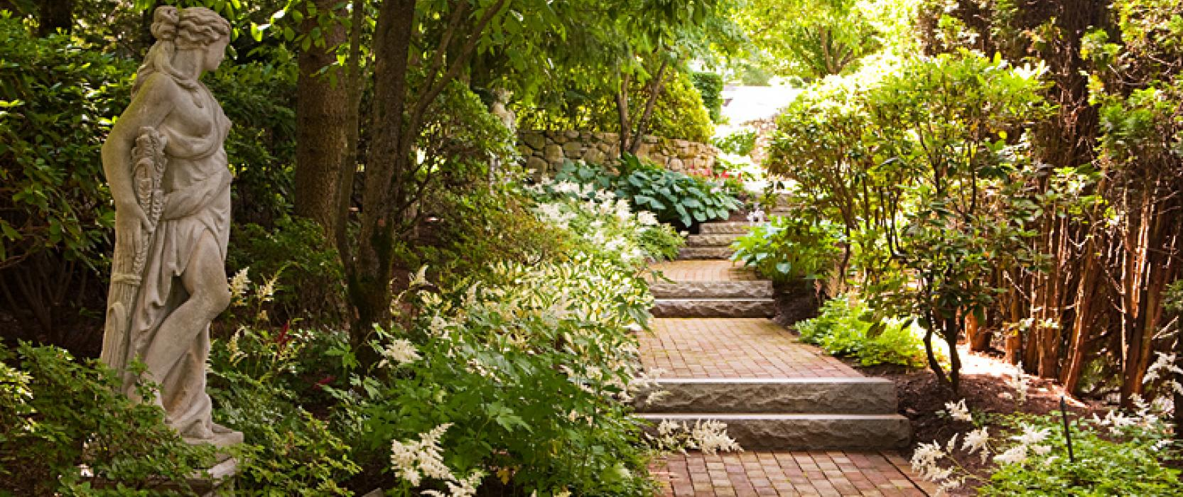 Garden landscape by Sudbury Design Group