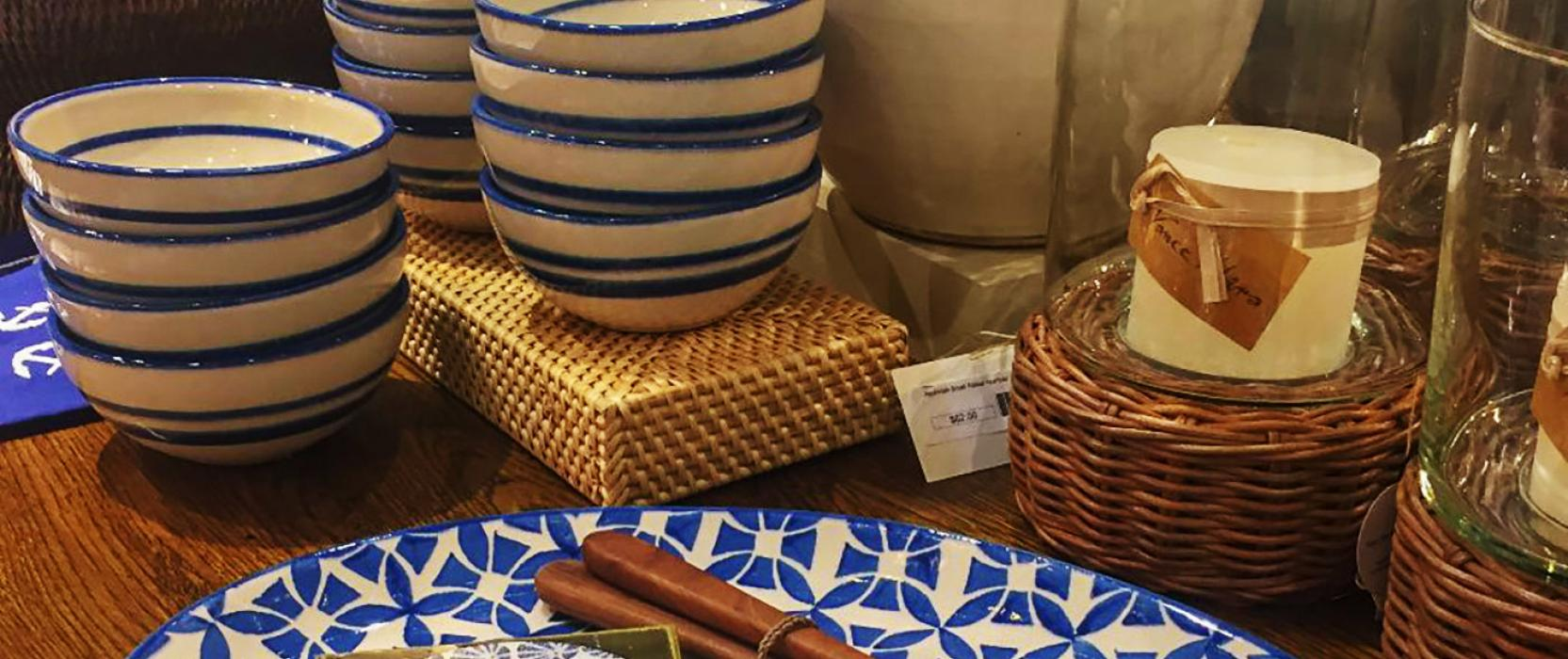Mark D. Sikes Summer Entertaining Essentials at Surroundings Home