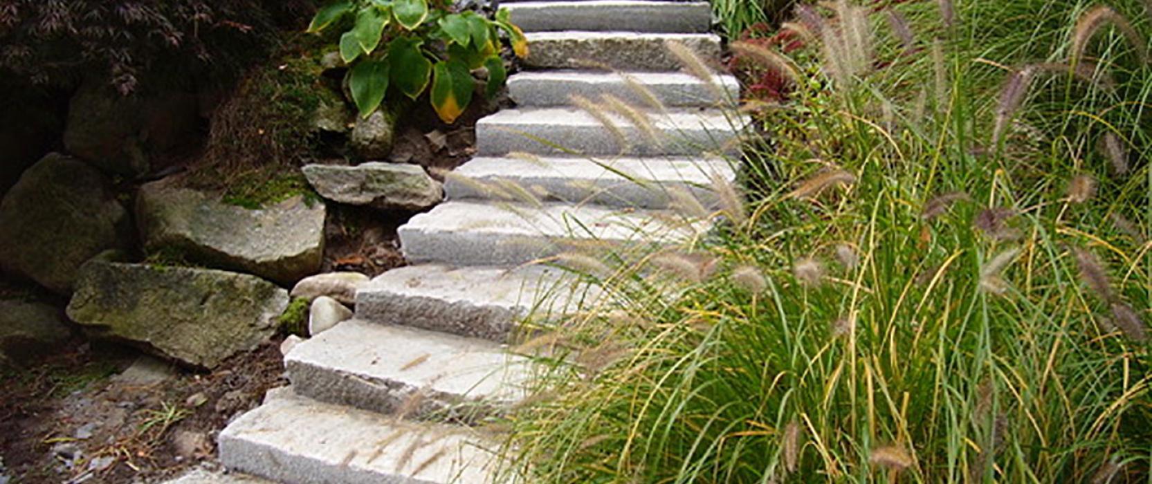 Plymouth Quarries used granite steps
