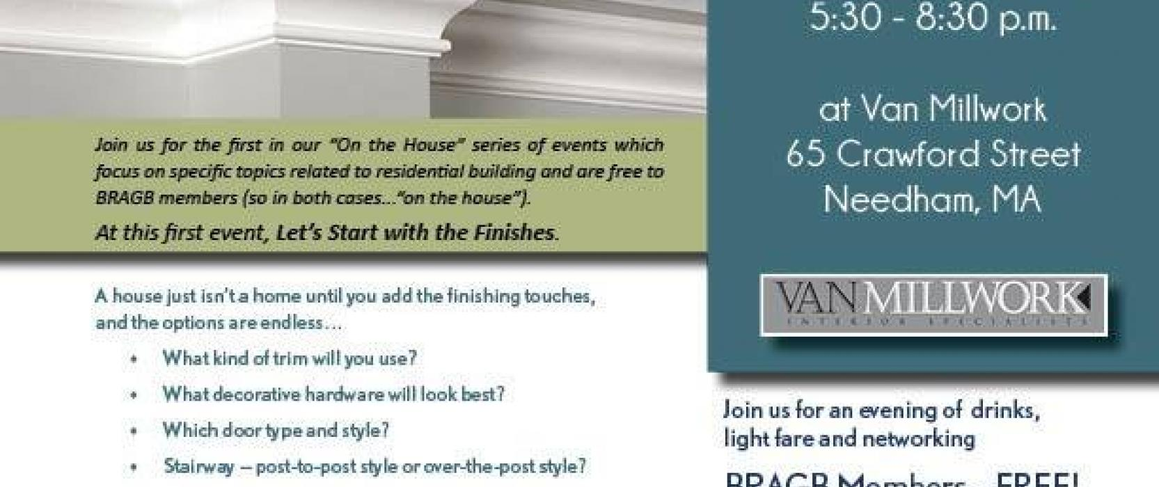Van Millwork Hosts Networking Event