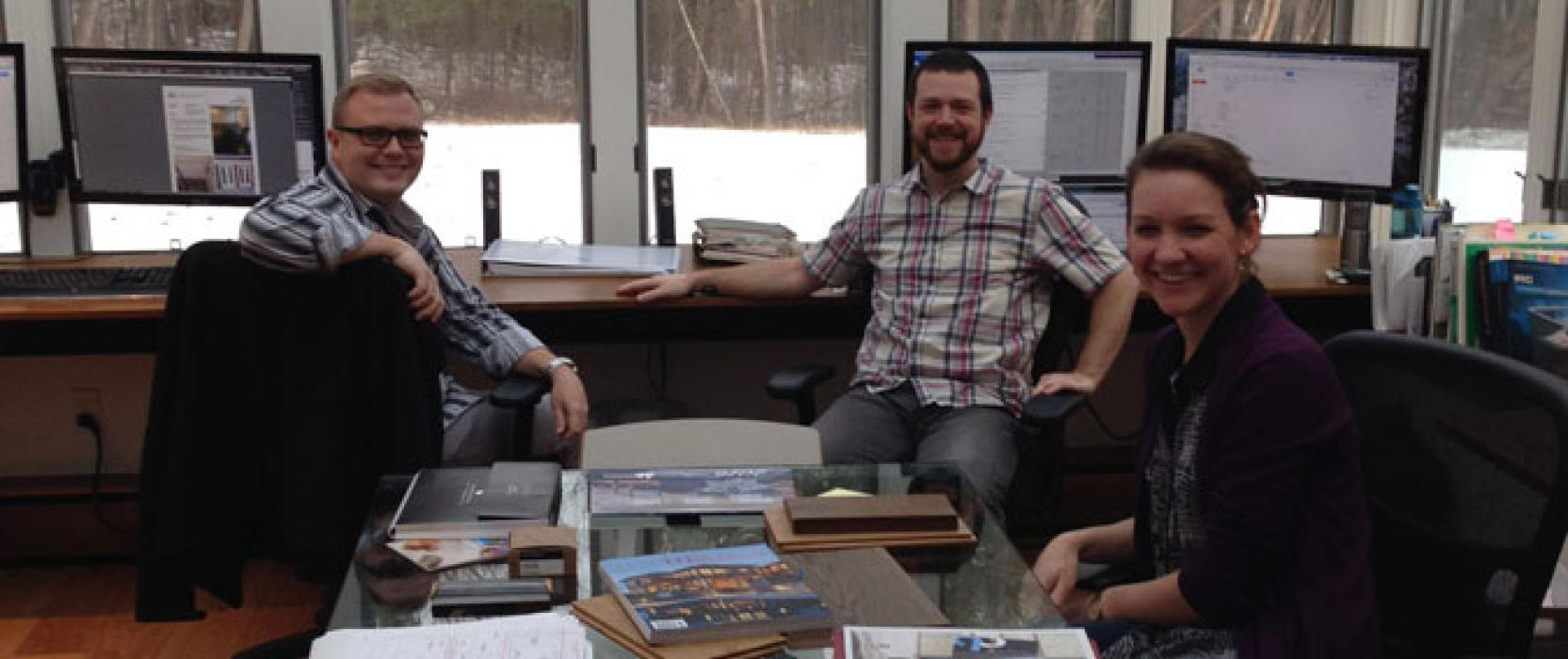Office Space: Adams & Beasley's Retro Recording Studio