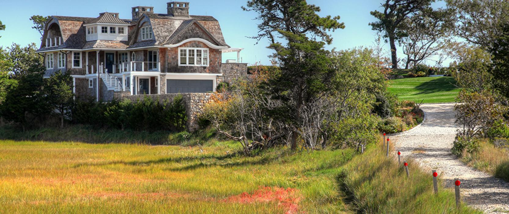 High end Cape Cod New England Architecture