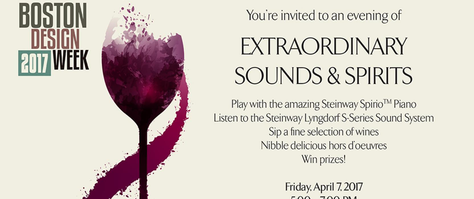 Steinway Spirio Piano, Steinway Lyngdorf S-Series Sound System, Boston Design Week, Audio Video Design, M. Steinhart & Sons, Boston Design Guide