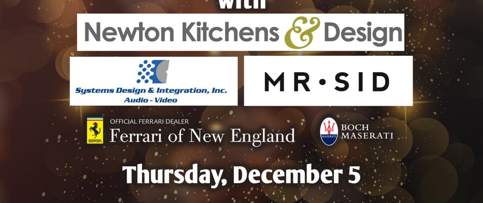 """The Best in Design"" Celebration Dec. 5 at Newton Kitchens & Design"