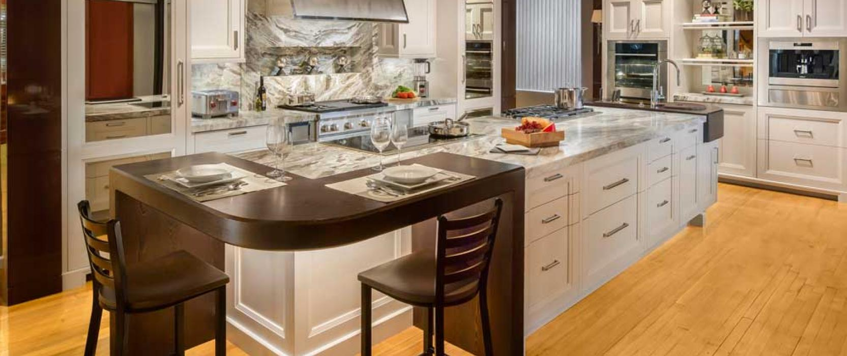 Clarke Unveils Stunning Kitchen in Connecticut
