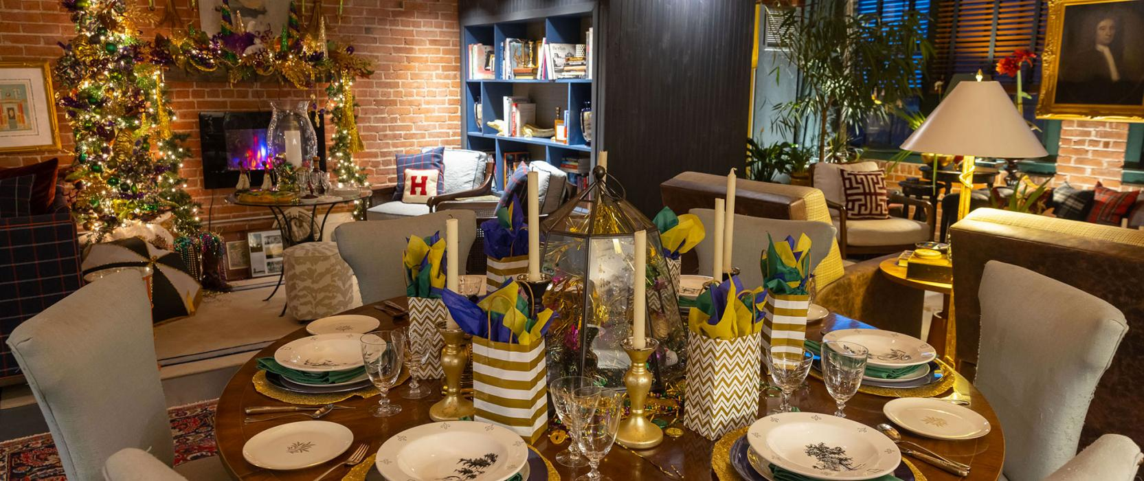 Fat Tuesday Interior Decor by Eric Haydel Design