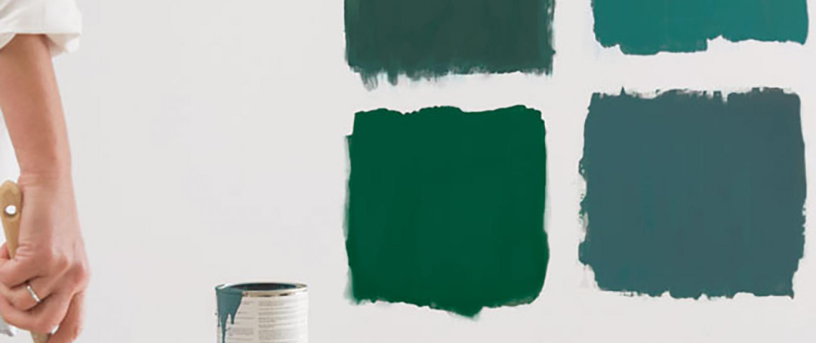 Benjamin Moore paint, color rental