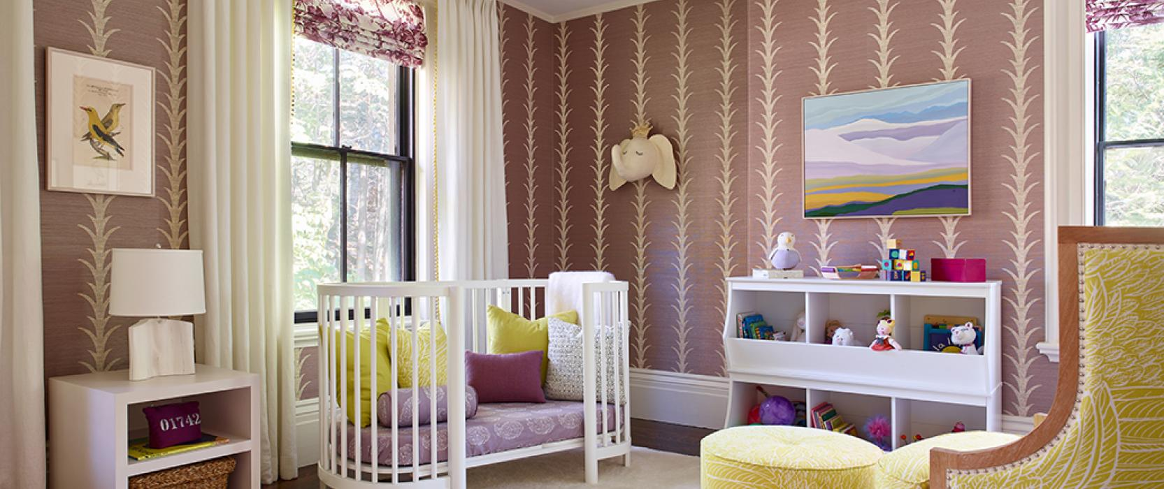 girls nursery room interior design
