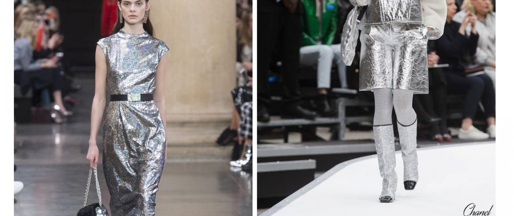 metallic design trends for fall