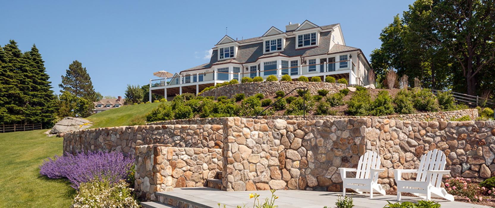 Seaside new england classic homes