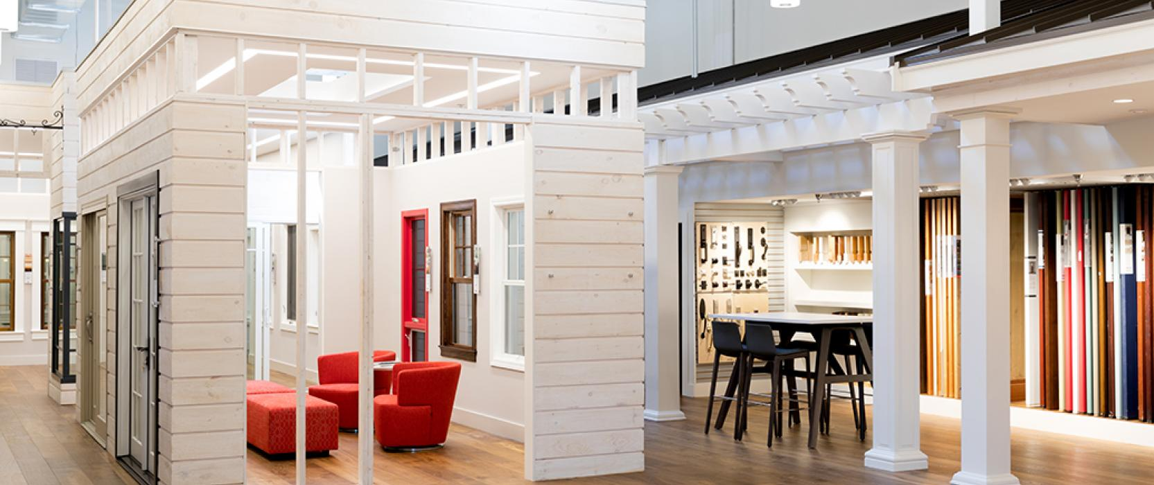 windows and doors showroom in Boston