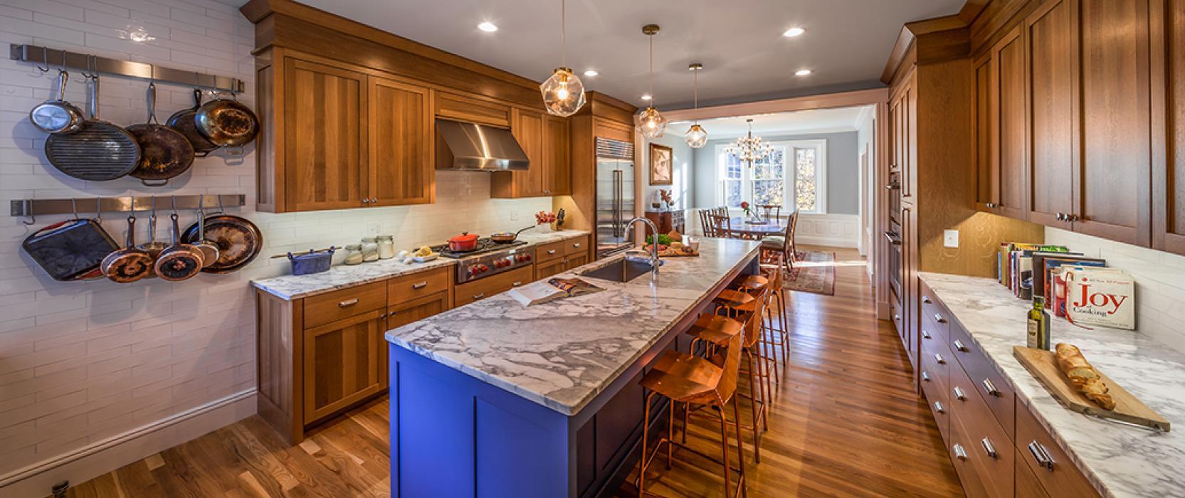 Kitchen renovation in Brookline