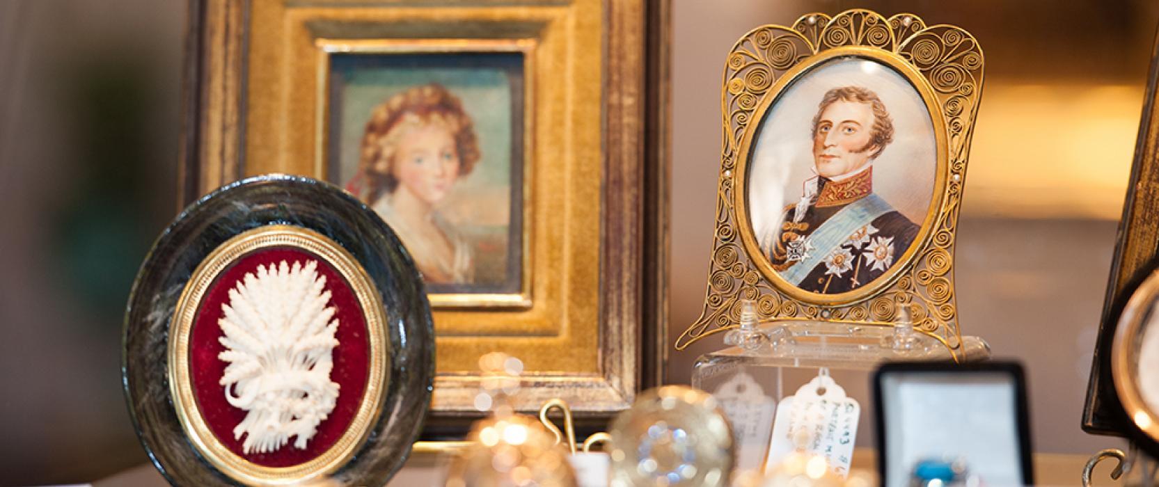 unique antiques and art collection