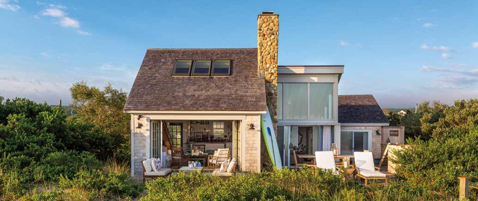 Martha's Vineyard waterfront cottages
