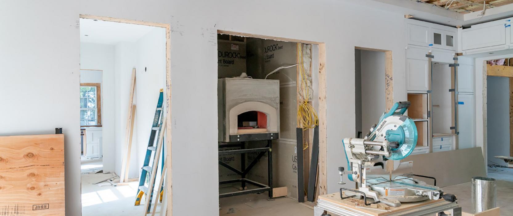 Mugnaini pizza oven installation