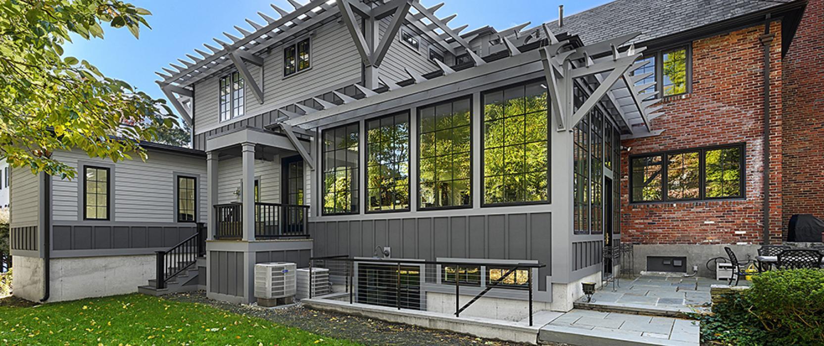 Boston Design Guide historic home renovation tudor modern