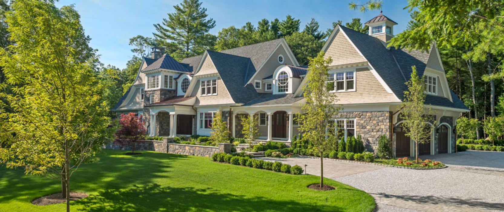 Weston Massachusetts custom home build and architecture
