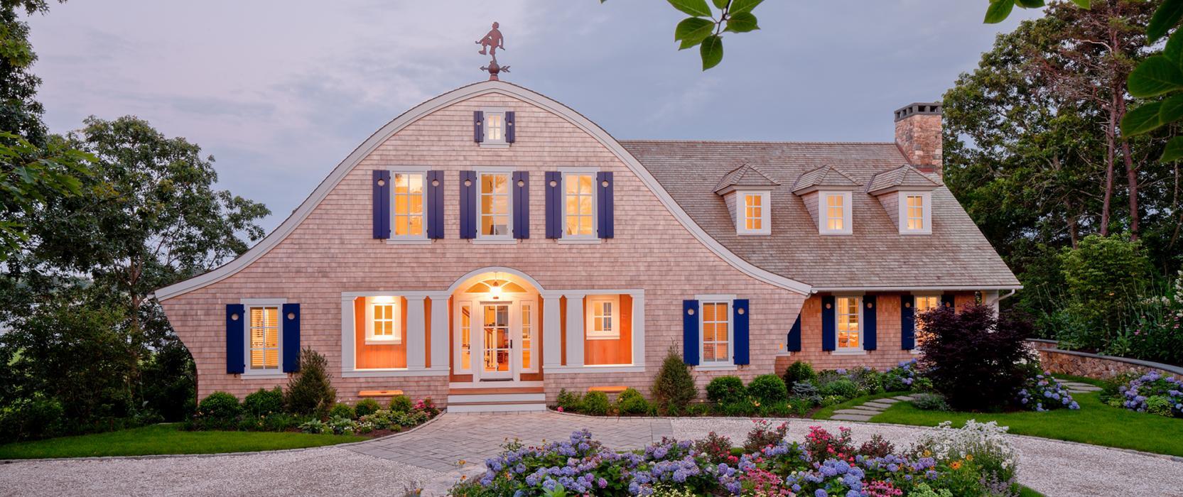Luxury Cape Cod Shingle Waterfront Home