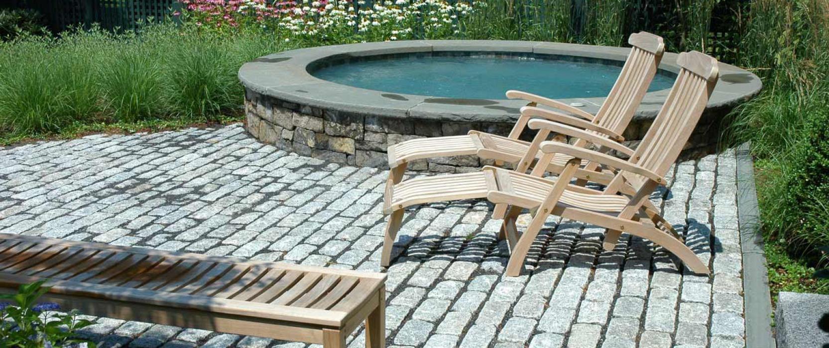 outdoor landscape design and architecture
