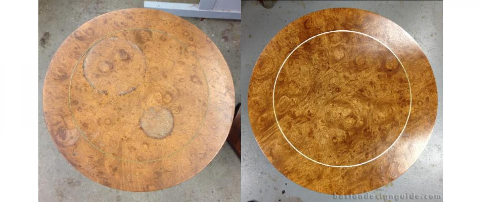 Damaged Furniture Restoration New England