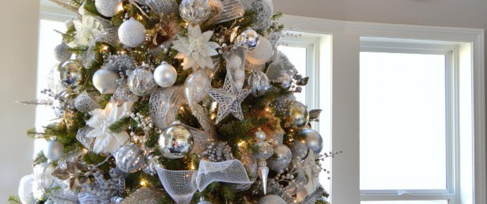 White Holiday Home Decor