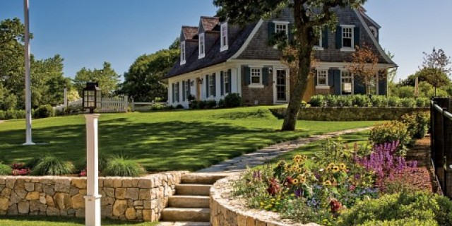Ponderosa landscaping stoneworks saint aubin nurseries for Cape cod home landscape design