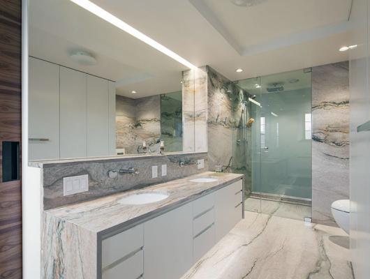 Bathroom stone and tile ideas
