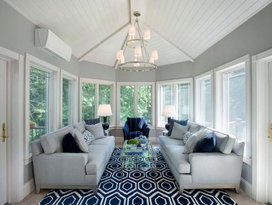 Boehm Graham Interior Design Screened Porch