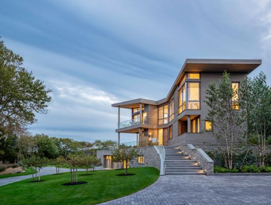 Custom home by brookes + hill custom builders