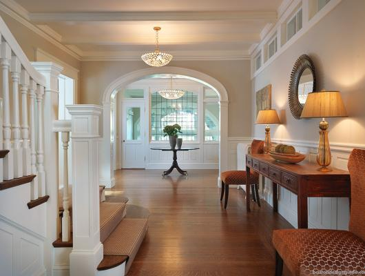 New England Classic homes, high end Brookline home construction and architecture