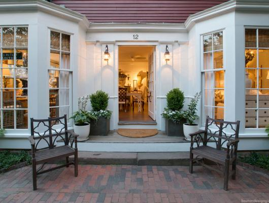 J. Butler Collection boutique store front in Nantucket