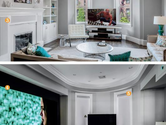 Living Room to Home Theater Transformation