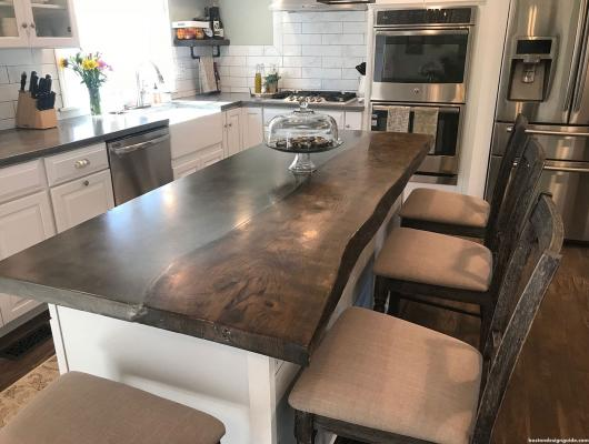 Concrete countertop by Elements Concrete Co.