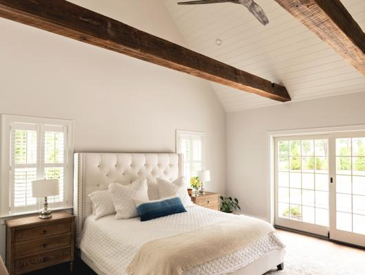 Master bedroom, McPhee Associates