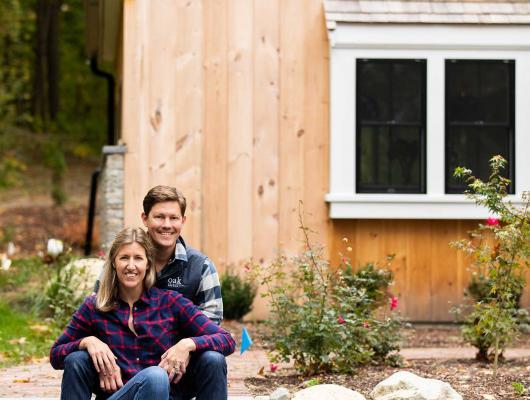 Pj and Lizzy of Oak Development & Design